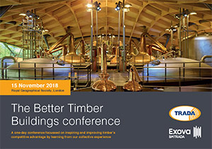 The Better Timber Buildings conference brochure