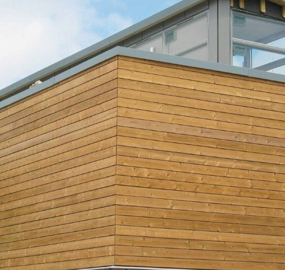 Thermowood Redwood D Timber Cladding