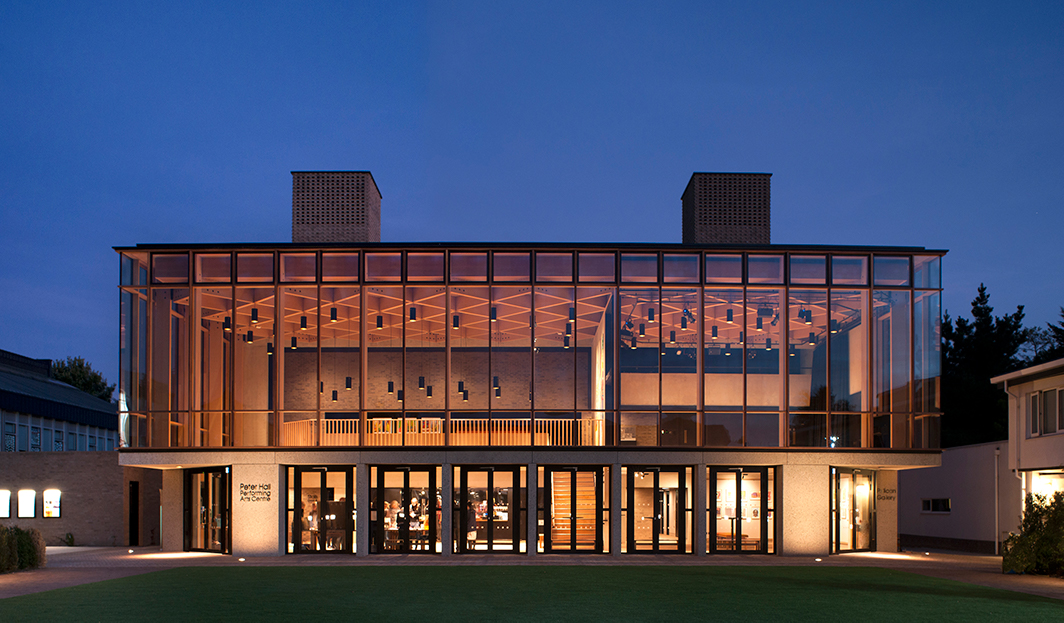 <p>Peter Hall Performing Arts Centre, Cambridge<br /><span>© </span><span>Philip-Vile</span></p>