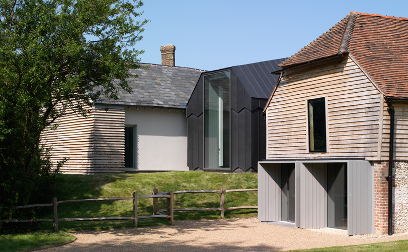 <p><span>The cart lodge (right) has been restored and is now the main entrance to the museum.</span></p> <p><span>© Tim Brotherton and Katie Lock</span></p>