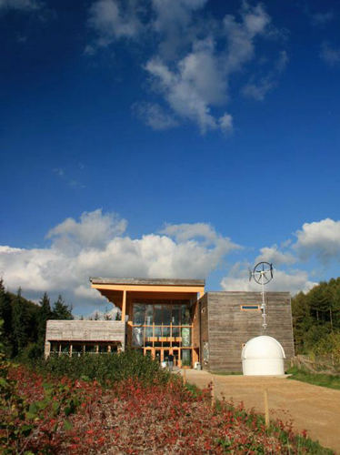 <p><span>The approach to the visitor centre is accessible to all.</span></p> <p><span>© White Design</span></p>