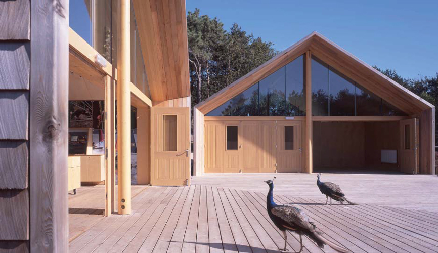 <p>A scout camp with single-storey timber buildings.</p> <p>© Wilkinson King Architects</p>