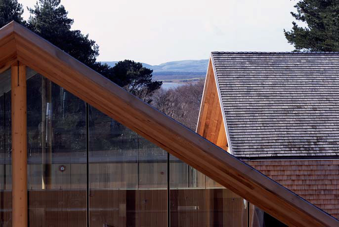 <p><span>SView across Brownsea Island and Poole Harbour beyond.</span></p> <p><span>© Wilkinson King Architects</span></p>