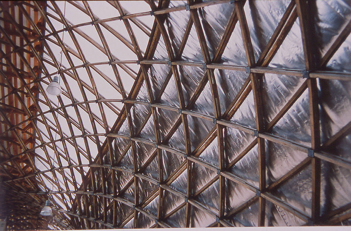 Weald & Downland Museum Gridshell (copyright Duncan McNicoll)
