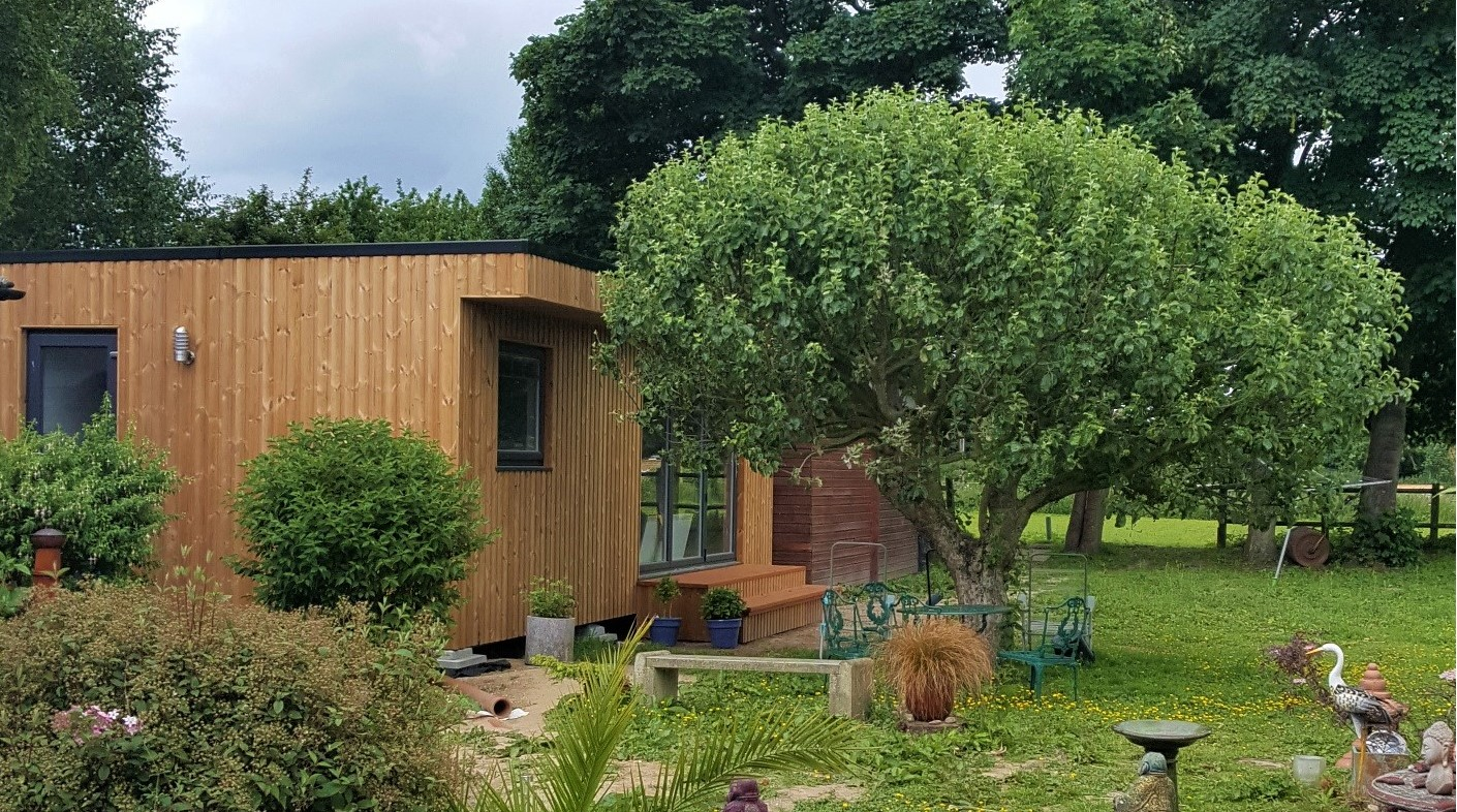 One of our lodges installed in Norfolk